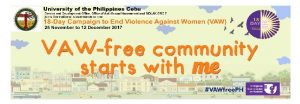 VAW – free community starts with me